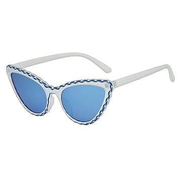 Amazon.com: Gafas de sol de moda sin sol para mujer, con ...