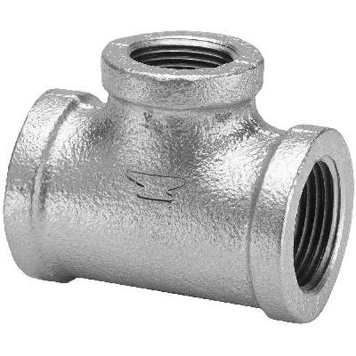 Anvil 8700123154 Malleable Iron Pipe Fitting, Reducing Tee, 1-1/4