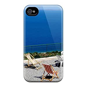 Fashion Tpu Case For Iphone 4/4s- Beautiful Vacation Spot Defender Case Cover