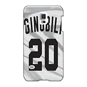 Shock Absorption Cell-phone Hard Cover For Samsung Galaxy S5 Mini (XaR25861ZFUk) Customized Colorful San Antonio Spurs Series