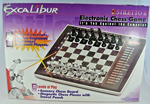 - Excalibur Stiletto II Electronic Chess Game