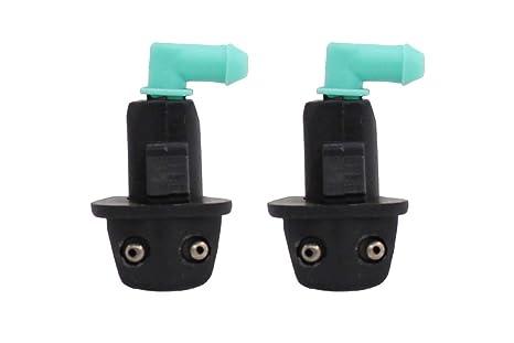 2 x Limpiaparabrisas Limpiaparabrisas agua boquilla de pulverización para 1998 – 2002 Honda Accord S84 CO2