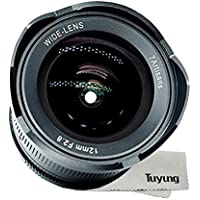 7artisans 12mm f2.8 Ultra Wide Angle Lens for Sony E-mount APS-C Mirrorless Cameras A6500 A6300 A6000 A6500 A6300 A7 Manual Focus Prime Fixed Lens