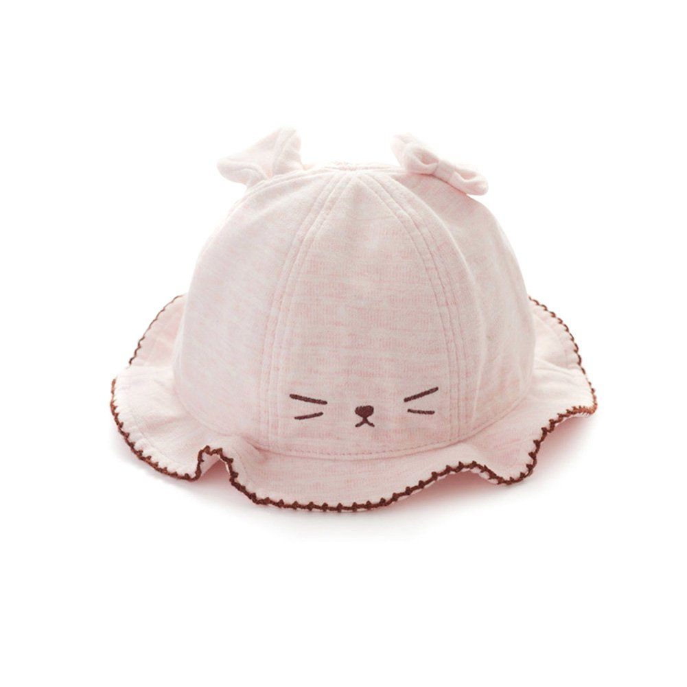 IMLECK Toddler Cute Cat Hat Sun Protection Animal Bucket Hat