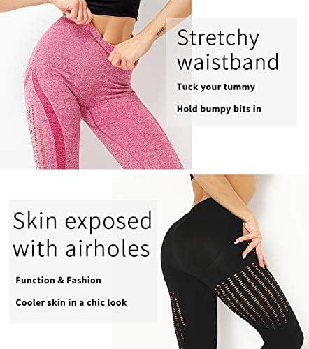 SLIMBELLE Mallas Push up Mujer Leggings Deportivos 21