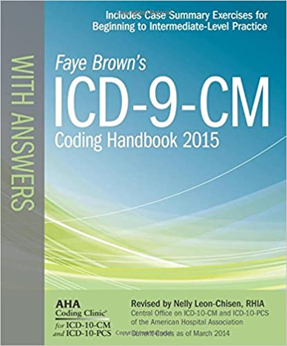 Icd 9 cm coding handbook with answers 2015 rev ed icd 9 cm icd 9 cm coding handbook with answers 2015 rev ed icd 9 cm coding handbook with answers faye browns 9781556483998 medicine health science books fandeluxe Choice Image