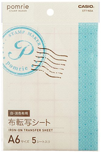 Casio stamp manufacturer Pomurie cloth transfer sheet for sale  Delivered anywhere in USA