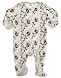 Leveret Little Baby Boys Fleece Footed Sleeper Pajama Onsie (Size 6 Months-5 Toddler) (6-12 Months, Dog)