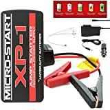 Antigravity Batteries AG-XP-1 MICRO START 400 Amp 12,000 mAh Car V8 Lithium Jump Starter, Power Bank and Flashlight with Carrying ase