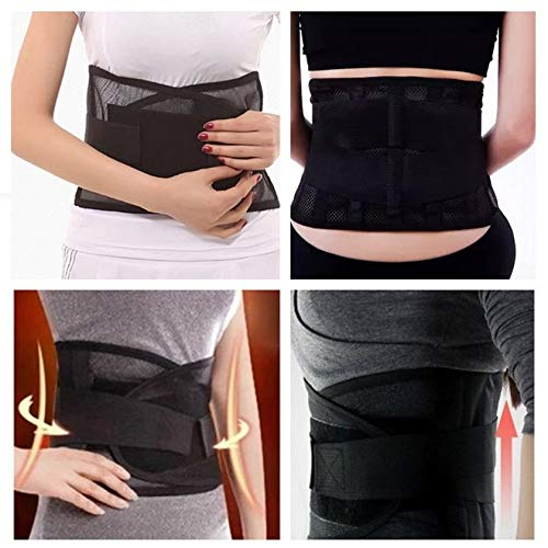 GFGHH Waist Support Waist Protection Thin Breathable Mesh Lumbar Support Steel Plate Protection Belt for Sports Safety Worldwide Sale