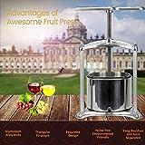 Fruit Wine Press - 100% Nature Juice Making for