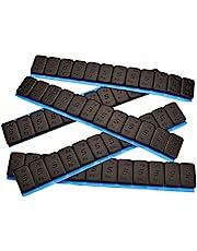 7 Contrapesos Negro 12x5g Pesos Adhesivos Pesos 60 G con Rebordes Cincado & Plastificado 0,42KG Negro 5gx12