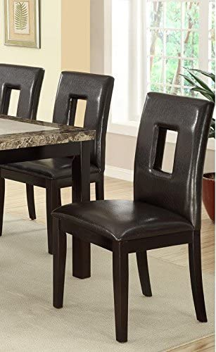 Poundex Contemporary Dining Chair