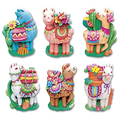 4M Mould & Paint Llama DIY Plaster Art Kit: Toys & Games