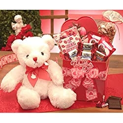 A Big Kiss for You Valentines Day Gift Basket