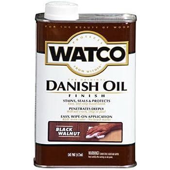 RUST-OLEUM 65351 Watco Pint Black Walnut Danish Oil Finish