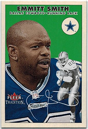 2000 Fleer Tradition Dallas Cowboys Team Set with Emmitt Smith & Troy Aikman - 15 NFL Cards