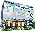 Miracle LED 602590 32 Red Spectrum LED Grow Lites 48ft Corded Lighting System Kit,