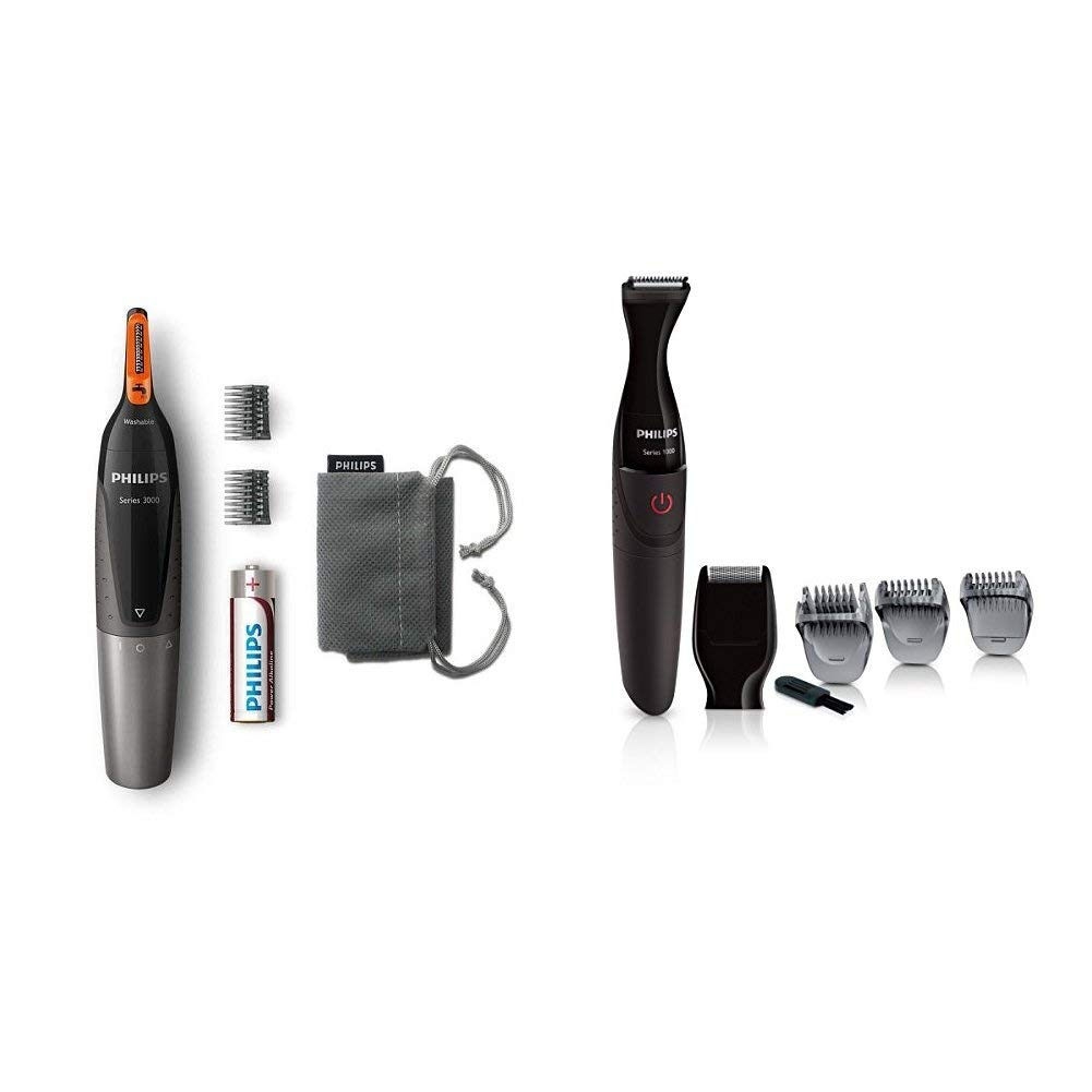 Philips MG1100//16 Series 1000 Multigroom Bartstyler schwarz