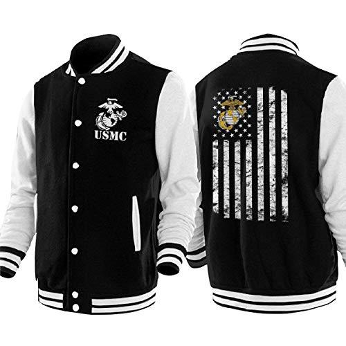 HOSYIPLKJKJA USMC Marine XL Mens Womens Baseball Jacket for sale  Delivered anywhere in USA