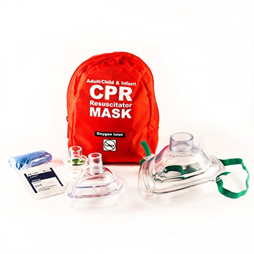 (CPR Mask Combo Kit for Adult/Child and Infant)