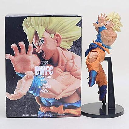 20 cm Dragon Ball Super Saiyan 3 Son Goku Trunks BWFC PVC Figura de acción GOUK Trunks Juguetes Dragon Ball Z Figura Muñeca, Goku en Caja: Amazon.es: Juguetes y juegos