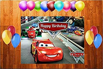 Disas Cars Theme Birthday Box 4 Feet X 5 Amazonin Toys