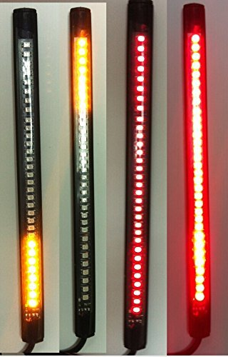 Brake Turn Signal (Motorcycle LED Turn Signal Tail Brake License Plate Integrated Light)