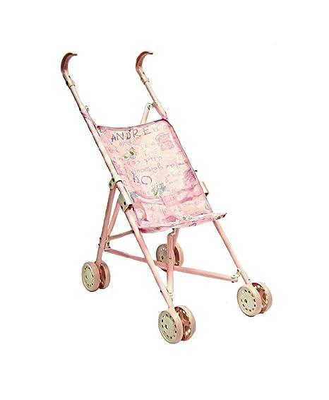 LOTMART Bebé Niñas Muñecas metálicos CARRITO SILLA DE PASEO SILLA DE PASEO SILLA DE PASEO PLEGABLE