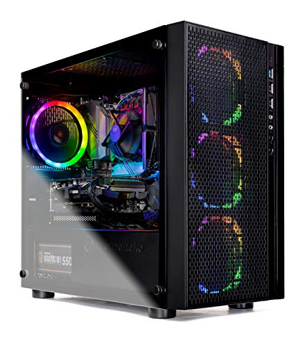 SkyTech Blaze - Gaming Computer PC Desktop - Intel Core I5 9400F 6-Core 2.9 GHz, NVIDIA GeForce GTX 1660, 500G SSD, 8GB DDR4, AC WiFi, Windows 10 Home 64-bit (Intel 9400F | 8GB | GTX 1660)