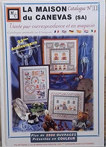 Amazon.fr - LA MAISON DU CANEVAS.CATALOGUE N° 8. - COLLECTIF - Livres