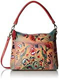 Anuschka Handpainted Leather Convertible Shoulder Bag, Turkish Pottery