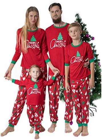 Fossen Kids Pijamas Familiares Navidad Arbol de Navidad ...