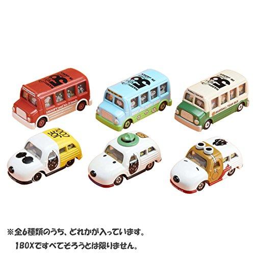 타카라 토미 (TAKARA TOMY) 토미카 드림 토미카 스누피 일본 상륙50주년 기념 드림 토미카 콜렉션 BOX