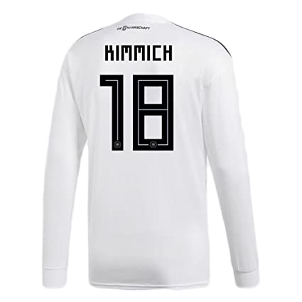a73ec6ff2b9 adidas KIMMICH  18 Germany Home Soccer Long Sleeve Stadium Jersey World Cup  Russia 2018 (