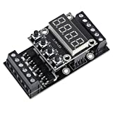 Icstation DC 10-24V FX1N-10MT Programmable Logic Controller PLC Module with Timer 6 Input 4 Output