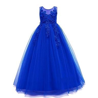 GOWE Falda de Fiesta - Vestido Bowknot de Encaje de Moda para ...