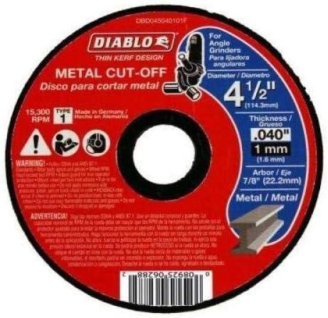 Freud-Diablo DB 4-1//2X.040X7//8 MTL CO1 TKERF
