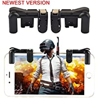 ClickCase PUBG Mobile Game Controller Sensitive Fire Shooting Aim Gaming Trigger Buttons with Carrying Case for Android, IOS Smartphone - 1Pair