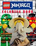 LEGO NINJAGO: Coloring Book on the Ninjago Characters. Great Book for Young Children Aged 3+. An A4 48 Page Book for Any Avid Fan of Ninjago.