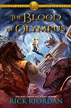 The Blood of Olympus by Rick Riordan children's fantasy book reviews