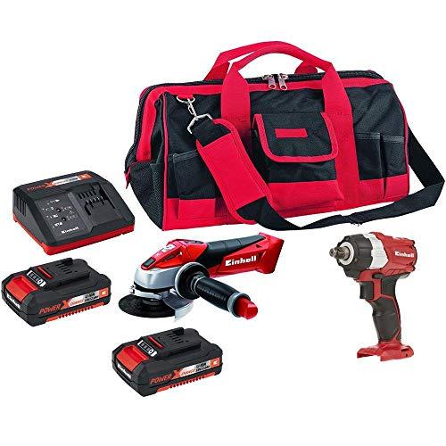 Chave de impacto,esmerilhadeira,bolsa,kit bateria einhell