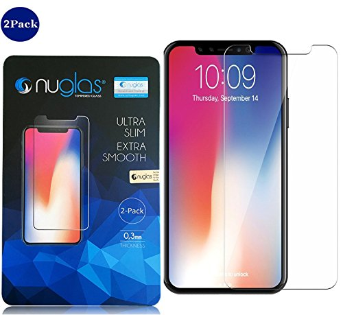 Invisible Shield iPhone X Screen Protector - Apple iPhone 10 Screen Saver [Case Friendly] HD Clear Screen Guard [Tempered Glass Protection] | Easy Install/Apply | Anti Fingerprint Defense (Back Screen Protector Guard)