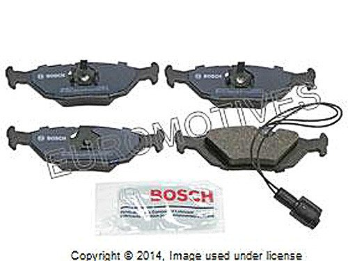 BMW (select 82-93 models) REAR Brake Pad Set BOSCH QUIETCAST ()