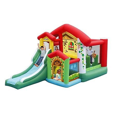 Casa de Juegos para niños multijugador Tobogán Infantil ...