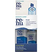 Bausch & Lomb Renu Fresh Multi-Purpose Solution Travel Pack, 120ml + 60ml