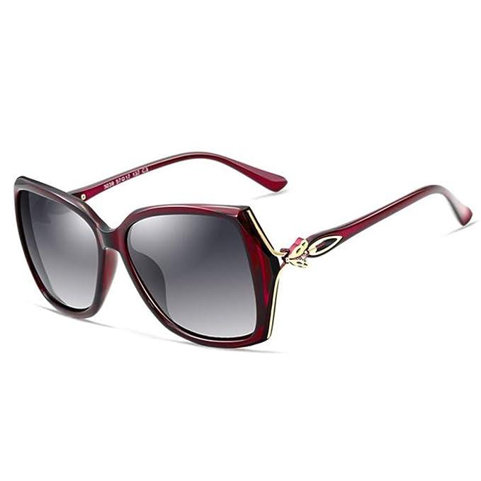 LITESIS Para mujer retro Gafas de sol polarizadas diseñador ...