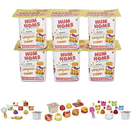 Num Noms Series 2 Mystery Packs Import 545828 Assortment of 6 MGA Entertainment