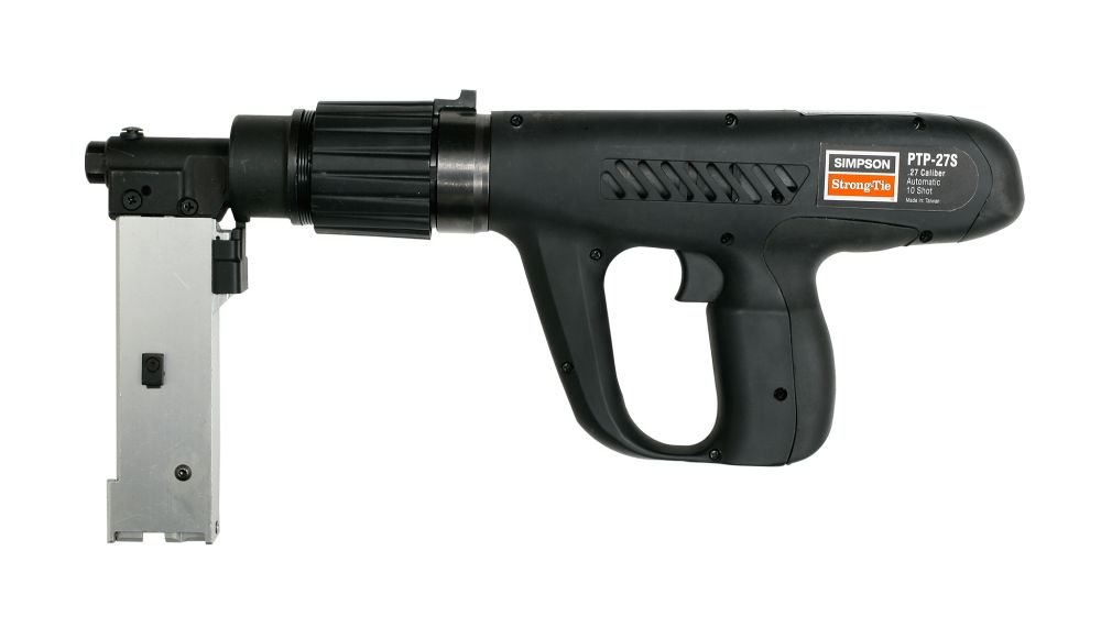 Simpson Strong Tie PTP-27SMAGR .27 Caliber Fully Automatic Fastening Tool-Short Magazine