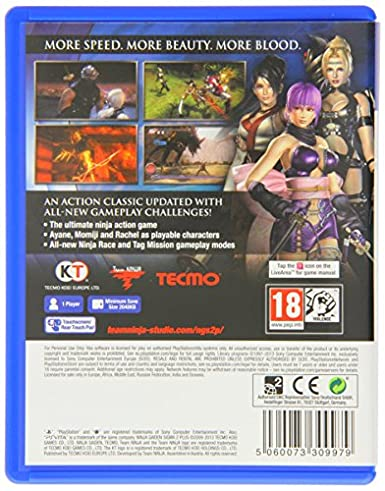 Ninja Gaiden Sigma 2 Plus (Playstation Vita) (UK) (UK Account required for online content)